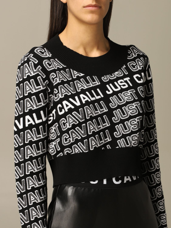 Jersey Just Cavalli: Jersey mujer Just Cavalli negro 5