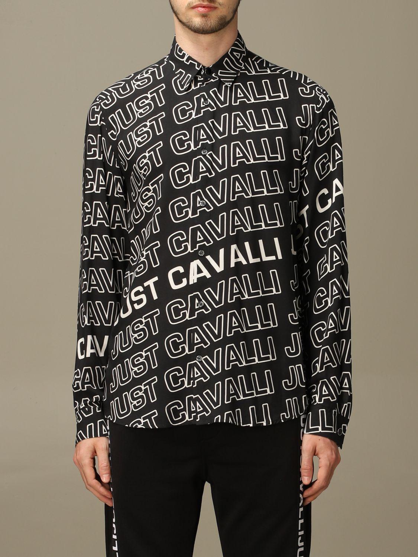 Shirt Just Cavalli: Shirt men Just Cavalli black 1