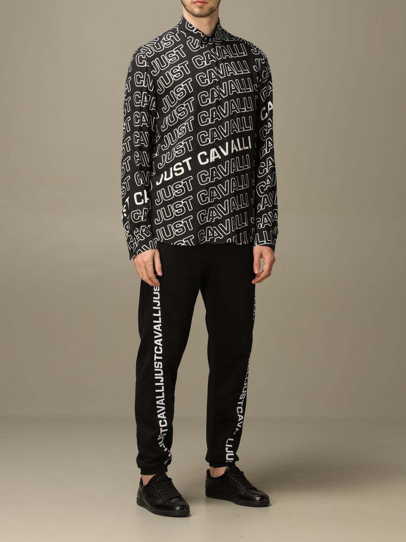 Shirt Just Cavalli: Shirt men Just Cavalli black 2
