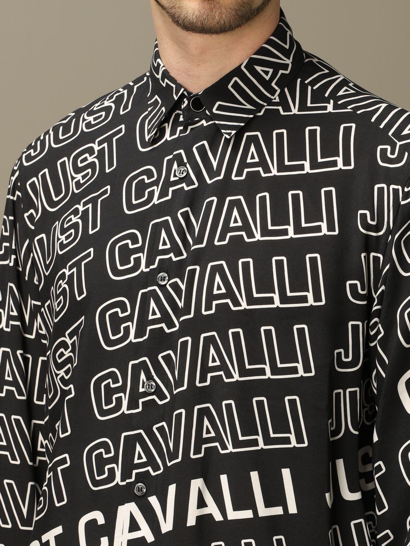 Shirt Just Cavalli: Shirt men Just Cavalli black 4