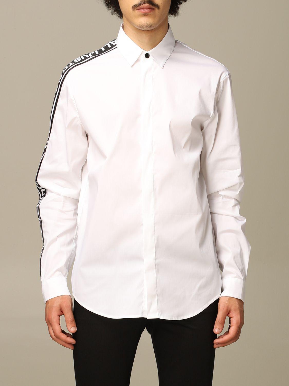 Chemise Just Cavalli: Chemise homme Just Cavalli blanc 1