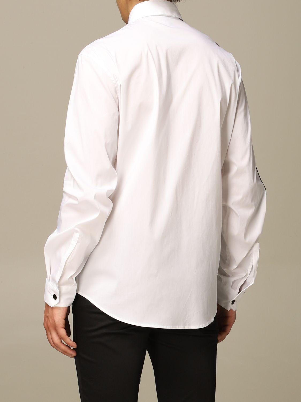Chemise Just Cavalli: Chemise homme Just Cavalli blanc 2
