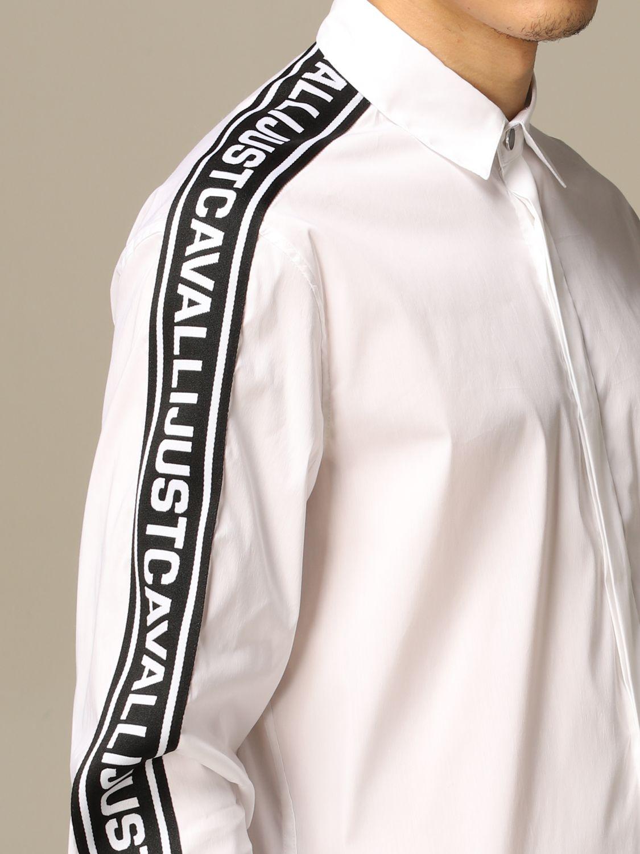 Chemise Just Cavalli: Chemise homme Just Cavalli blanc 3