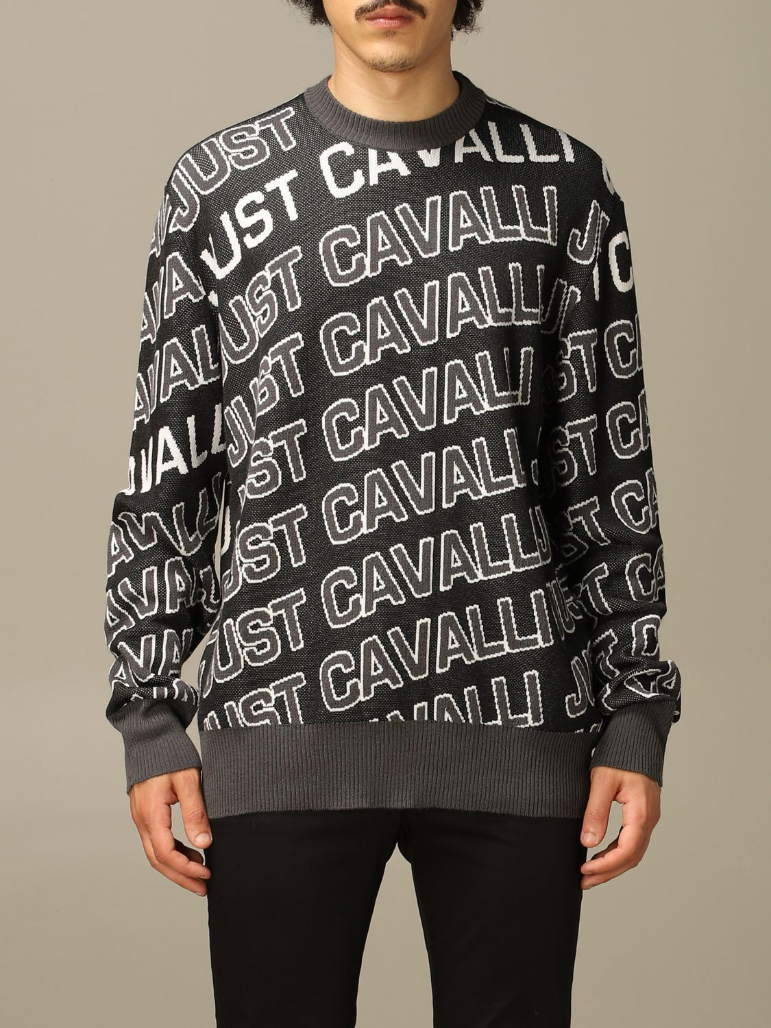 Jumper Just Cavalli: Jumper men Just Cavalli black 1