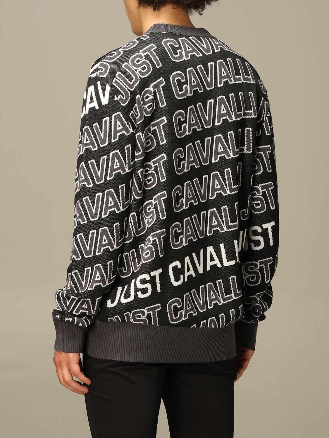Jumper Just Cavalli: Jumper men Just Cavalli black 2