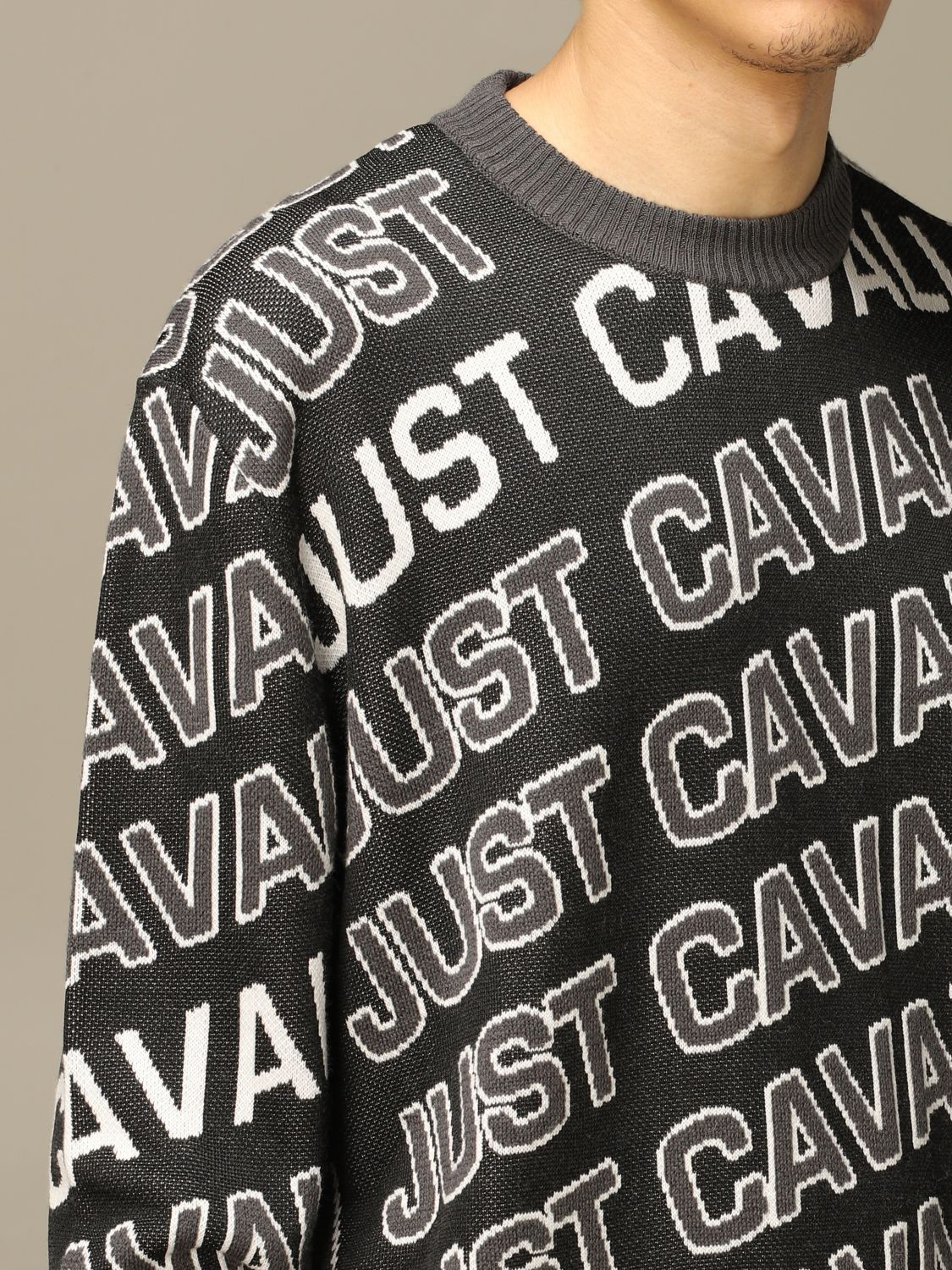Jumper Just Cavalli: Jumper men Just Cavalli black 3