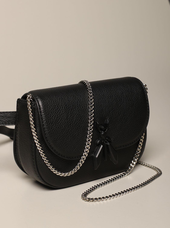 Belt bag Patrizia Pepe: Shoulder bag women Patrizia Pepe black 3
