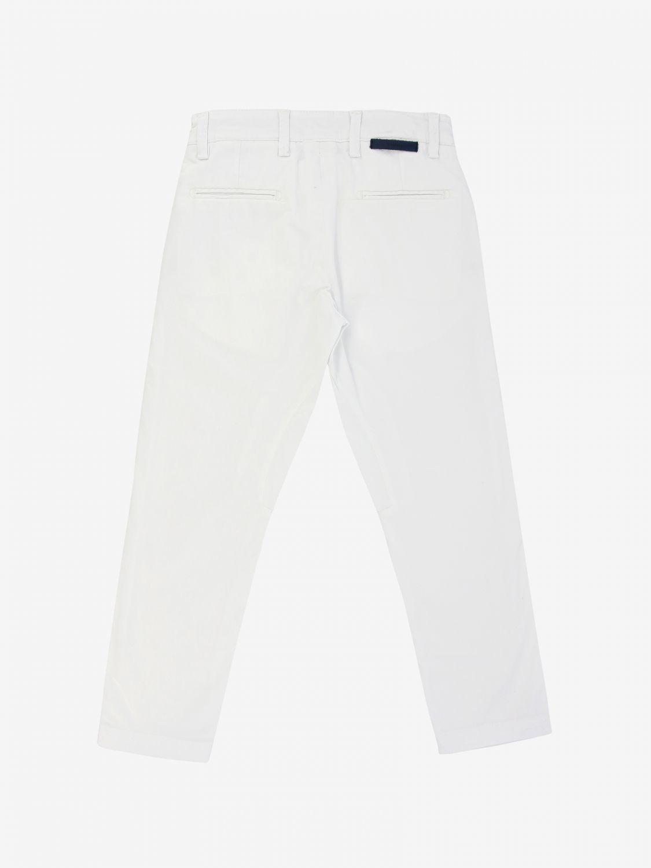 Trousers kids Siviglia white 2