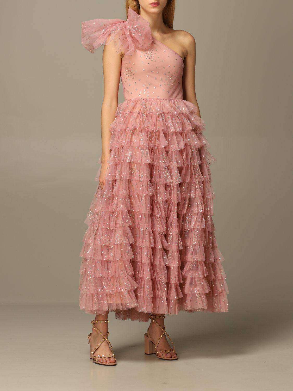 Платье Red Valentino: Платье Женское Red Valentino розовый 2