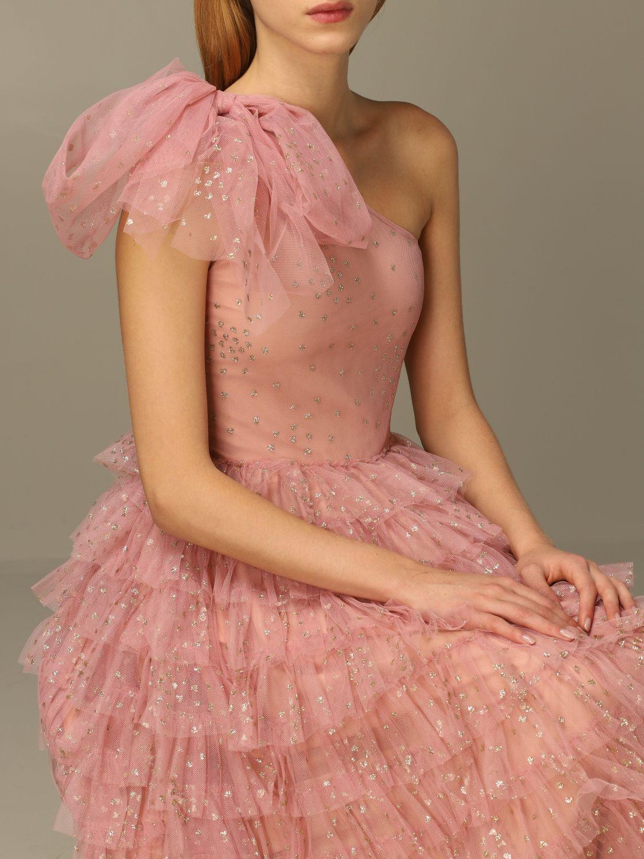 Платье Red Valentino: Платье Женское Red Valentino розовый 5