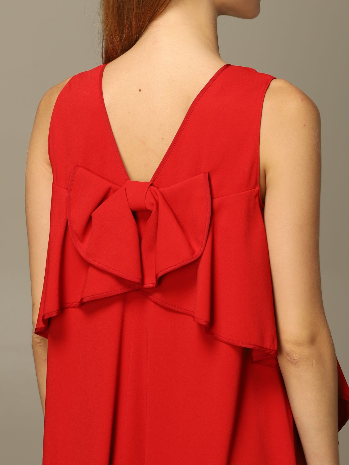 Robes Femme Red Valentino Robes Red Valentino Femme Rouge Robes Red Valentino Ur3var25 3sm Giglio Fr