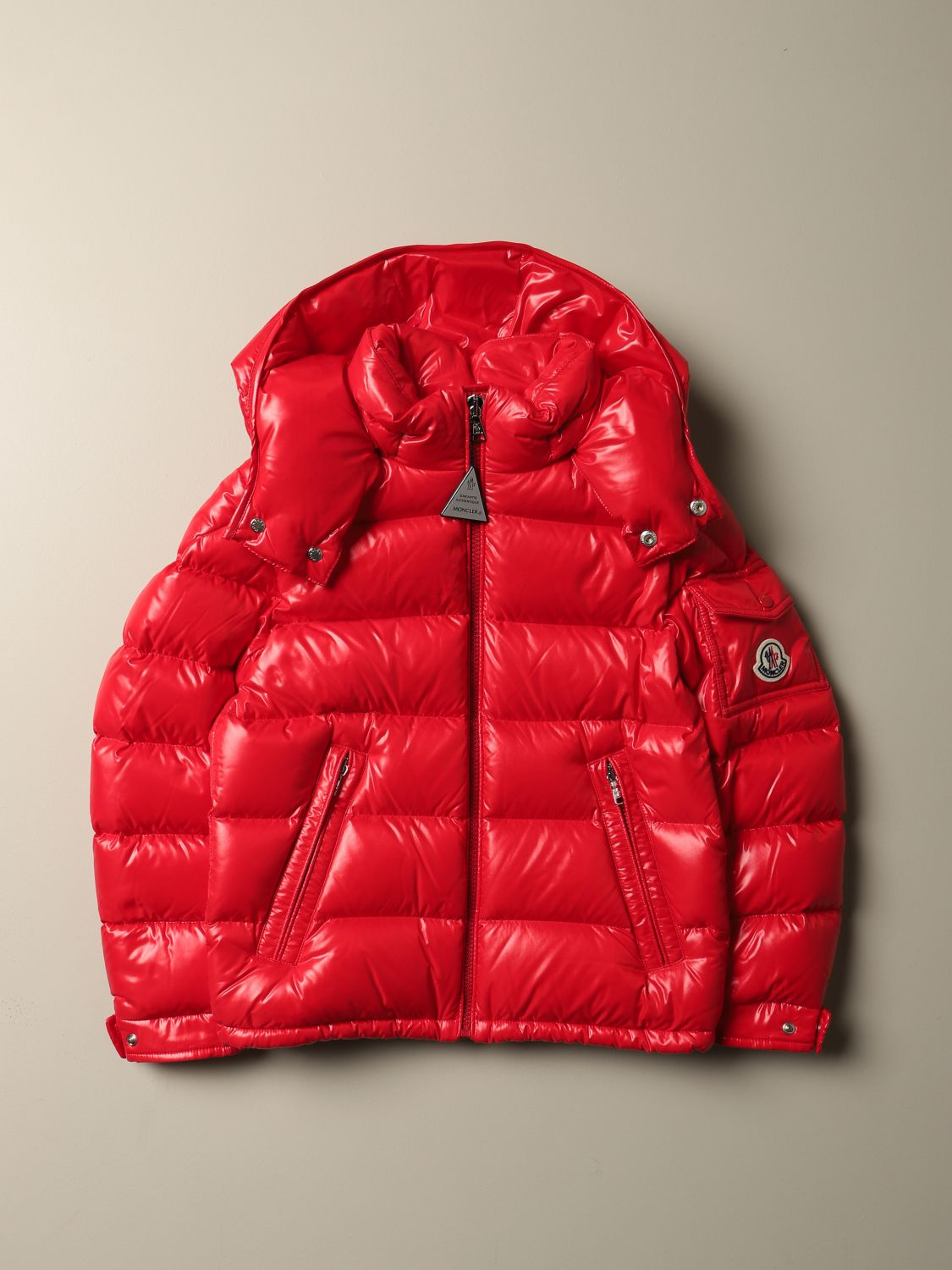 Jacket Moncler: Jacket kids Moncler red 1