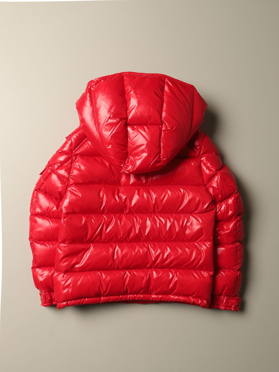 Jacket Moncler: Jacket kids Moncler red 2