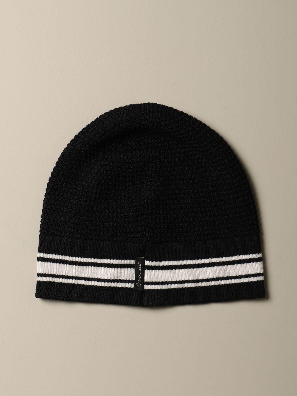 Hat Moncler: Hat kids Moncler black 1