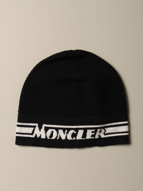 Hat Moncler: Hat kids Moncler black 2