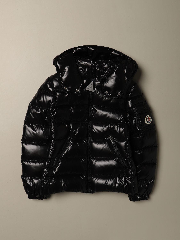 外套 Moncler: 外套 儿童 Moncler 黑色 1