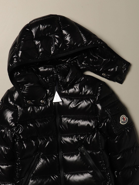 外套 Moncler: 外套 儿童 Moncler 黑色 3
