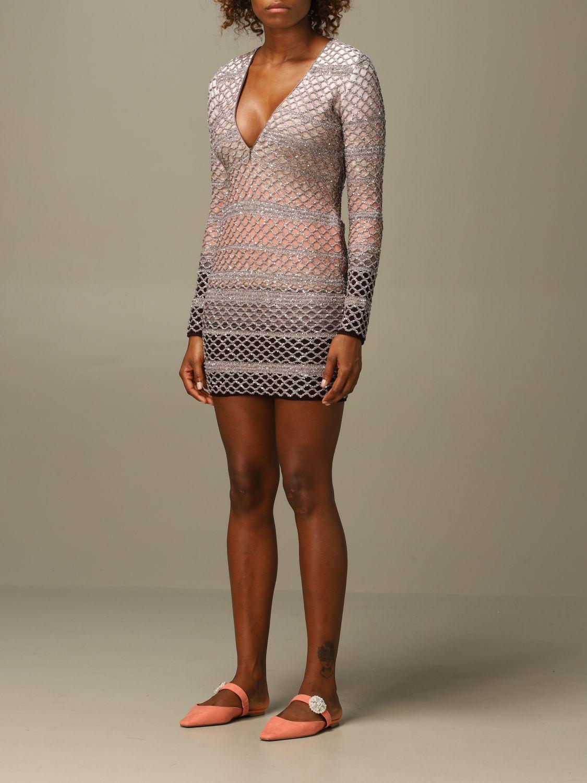 Vestido Missoni: Vestido mujer Missoni rosa 3