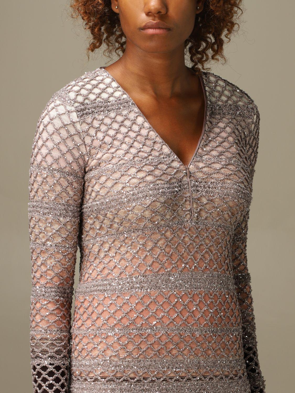 Vestido Missoni: Vestido mujer Missoni rosa 4