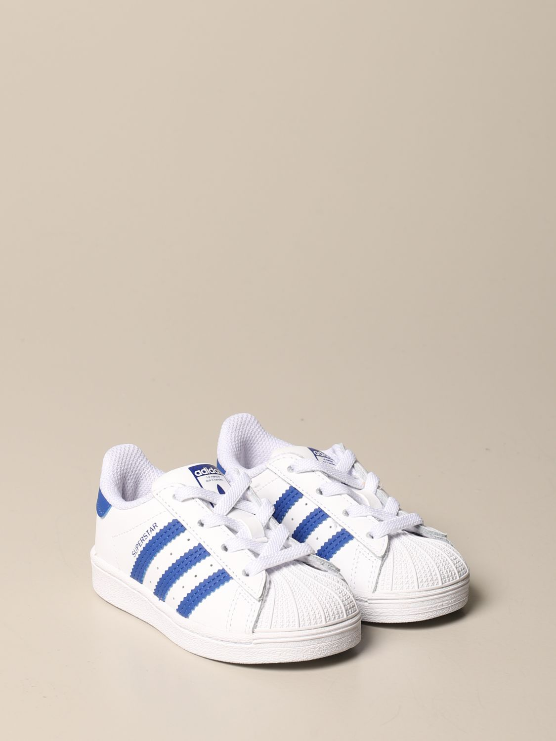 Scarpe Adidas Originals: Sneakers Superstar Adidas Originals in pelle bianco 2