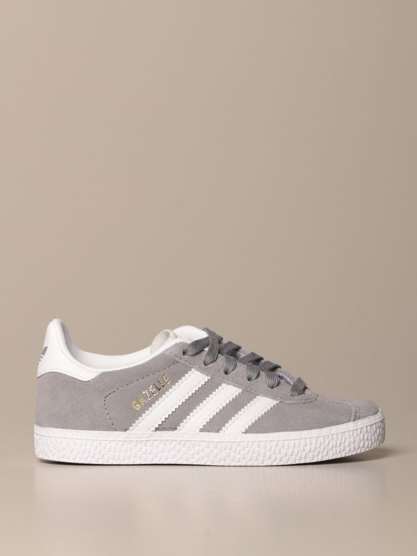 Scarpe Adidas Originals: Sneakers Gazelle C Adidas Originals in camoscio grigio 1