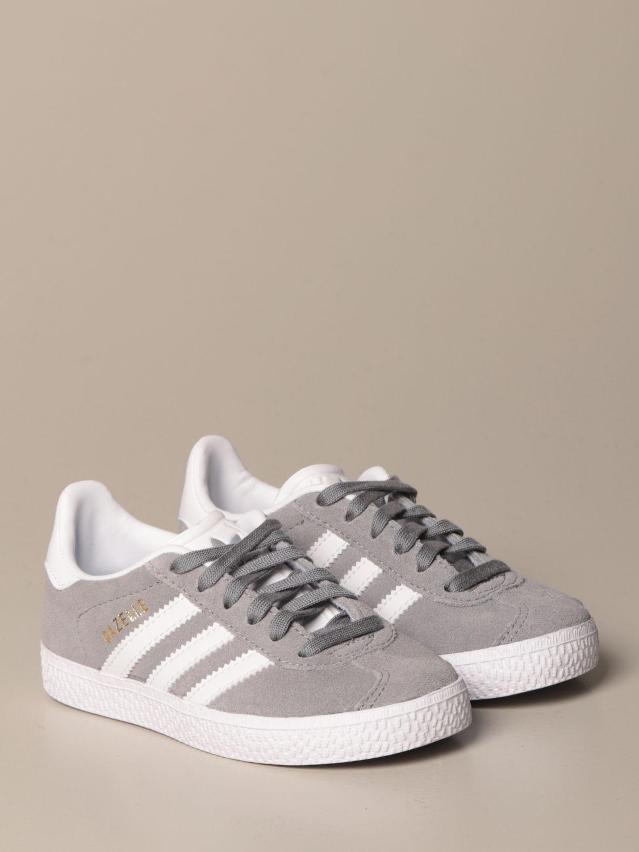 Scarpe Adidas Originals: Sneakers Gazelle C Adidas Originals in camoscio grigio 2