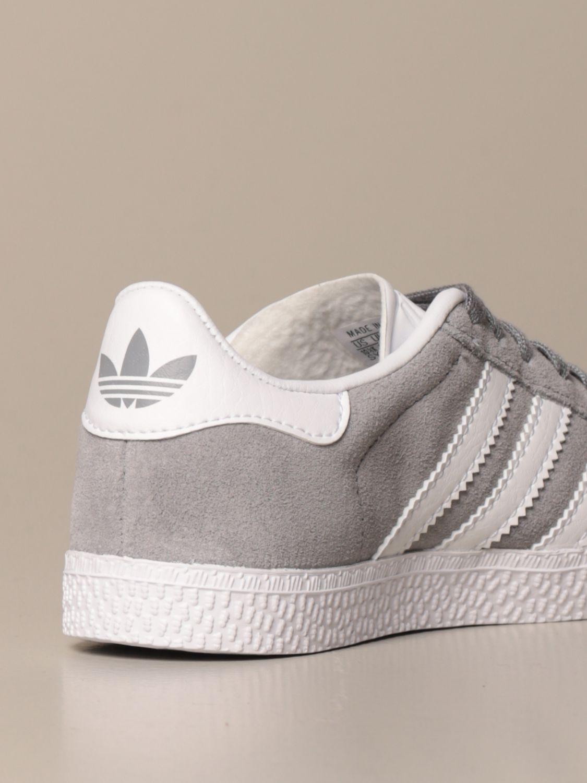 Scarpe Adidas Originals: Sneakers Gazelle C Adidas Originals in camoscio grigio 3