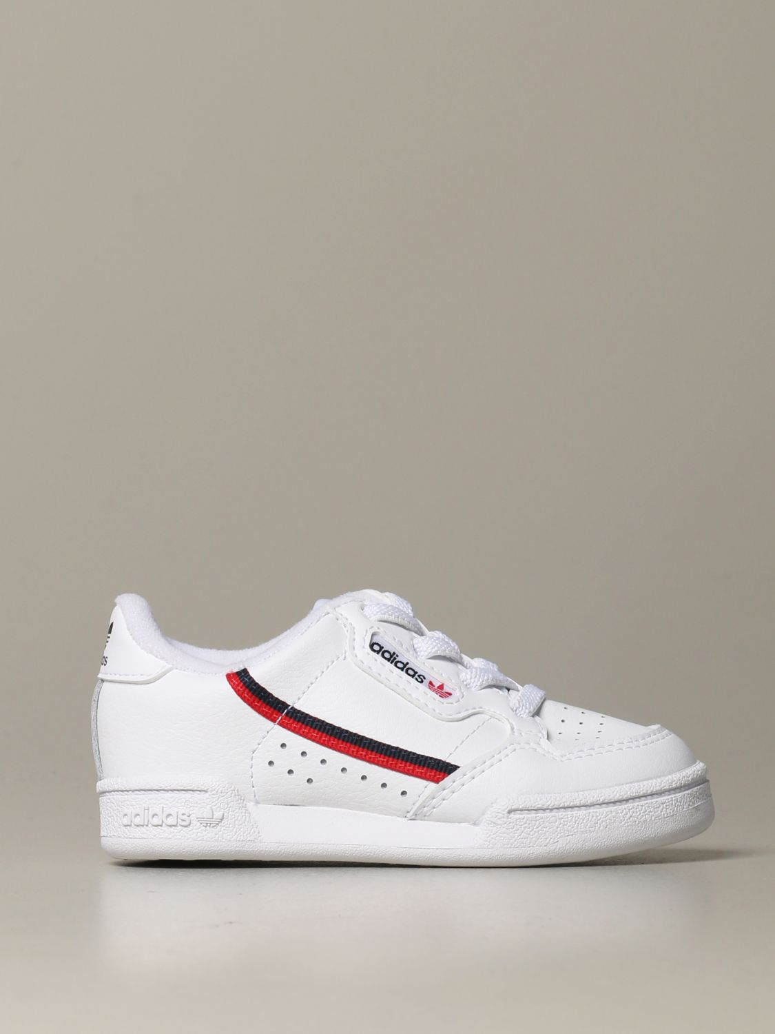 Shoes Adidas Originals: Continental 80 Adidas Originals leather sneakers white 1