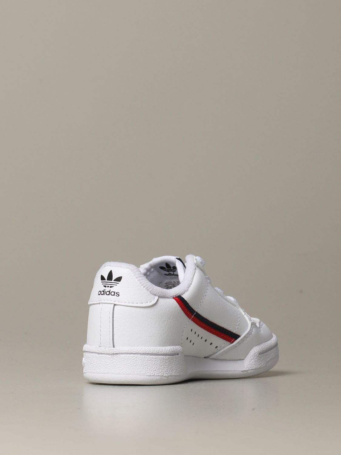 Shoes Adidas Originals: Continental 80 Adidas Originals leather sneakers white 3