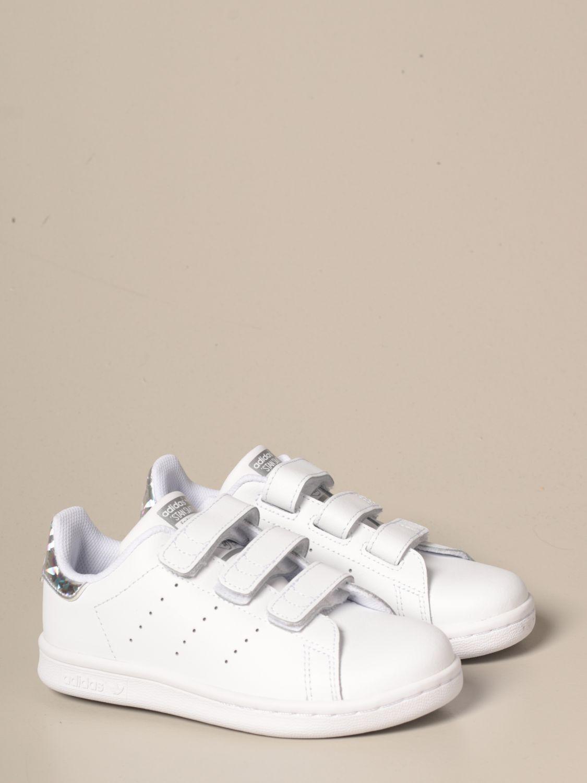 Zapatos Adidas Originals: Zapatos niños Adidas Originals blanco 2