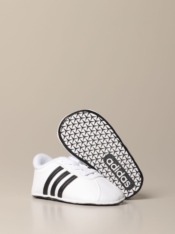 Scarpe Adidas Originals: Sneakers VL Court 2.0 Adidas Originals in pelle sintetica bianco 2