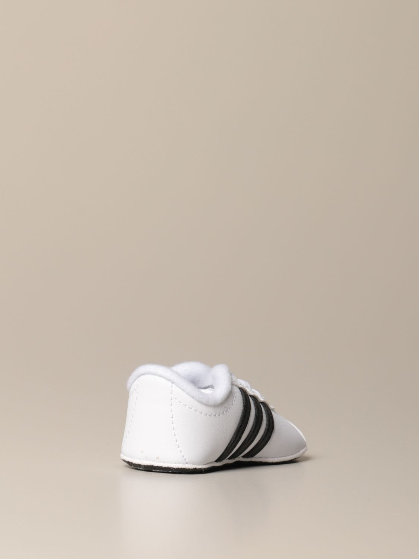 Scarpe Adidas Originals: Sneakers VL Court 2.0 Adidas Originals in pelle sintetica bianco 3