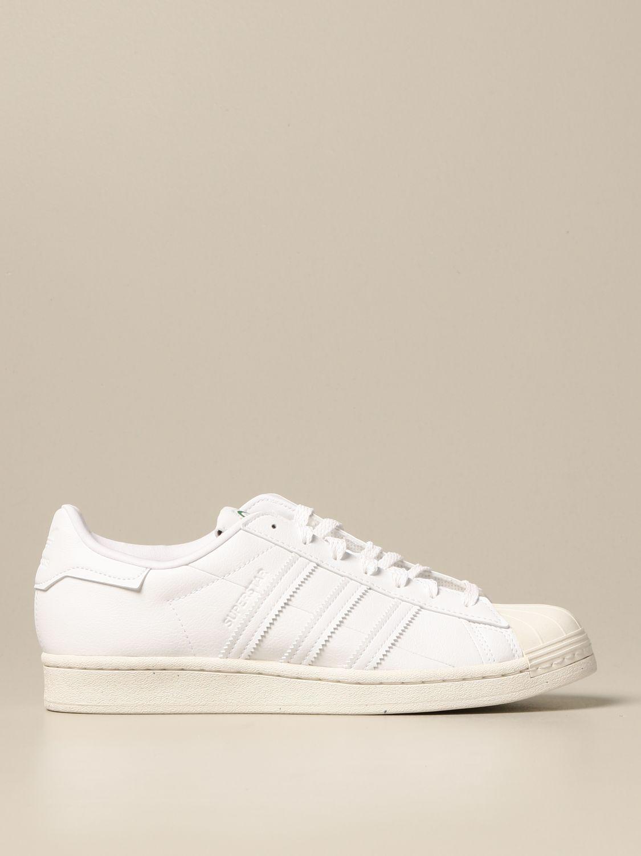 Sneakers Adidas Originals: Sneakers Superstar Adidas Originals in pelle vegan bianco 1