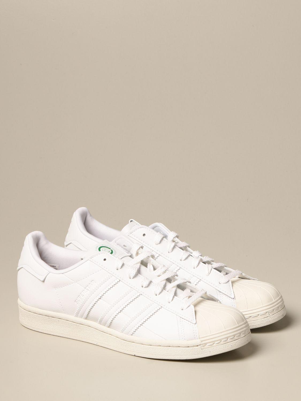 Sneakers Adidas Originals: Sneakers Superstar Adidas Originals in pelle vegan bianco 2