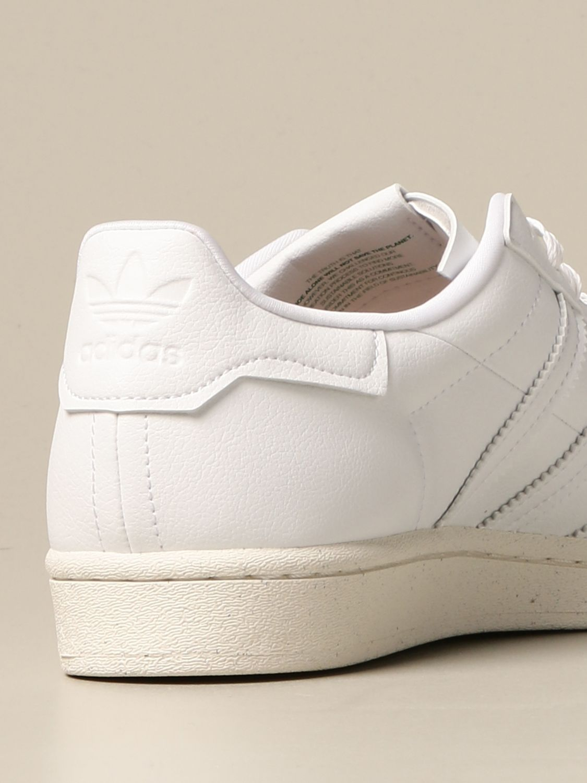 Sneakers Adidas Originals: Sneakers Superstar Adidas Originals in pelle vegan bianco 3