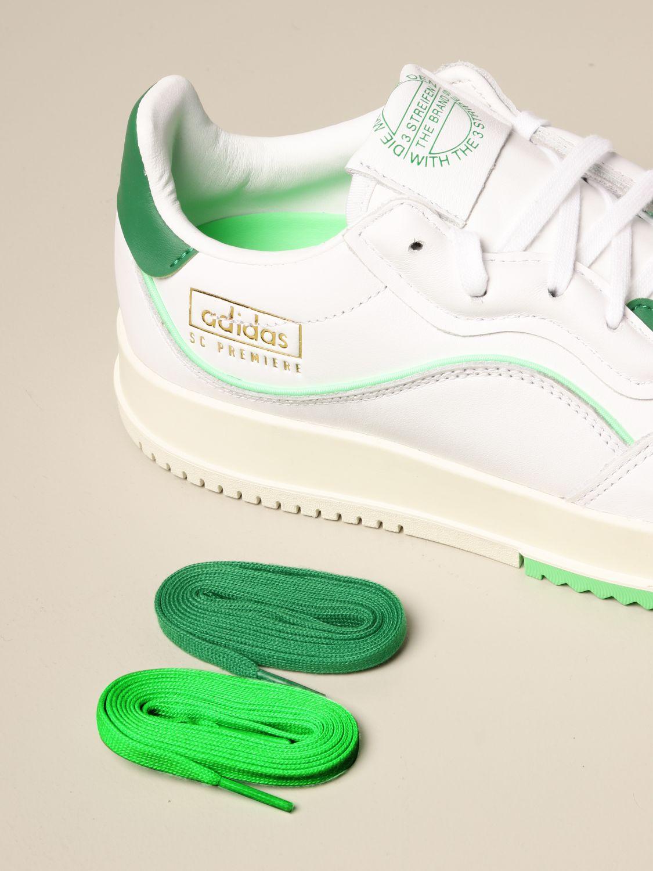 Baskets Adidas Originals: Chaussures homme Adidas Originals blanc 4
