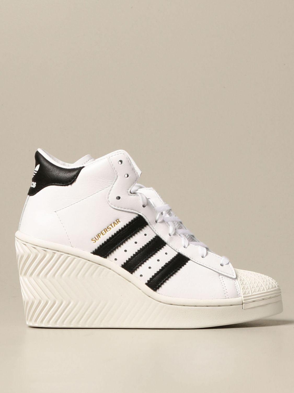 filósofo Parpadeo divorcio  Zapatos mujer Adidas Originals | Zapatillas Adidas Originals Mujer Blanco |  Zapatillas Adidas Originals FW0102 Giglio ES