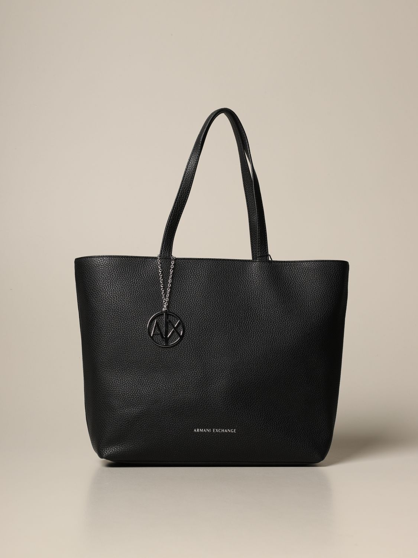 Tote bags Armani Exchange: Shoulder bag women Armani Exchange black 1