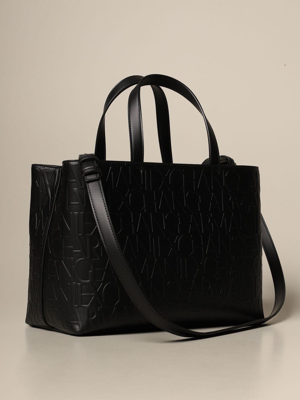 Tote bags Armani Exchange: Shoulder bag women Armani Exchange black 2