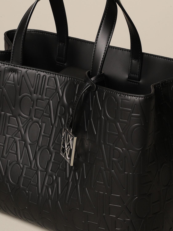 Tote bags Armani Exchange: Shoulder bag women Armani Exchange black 3