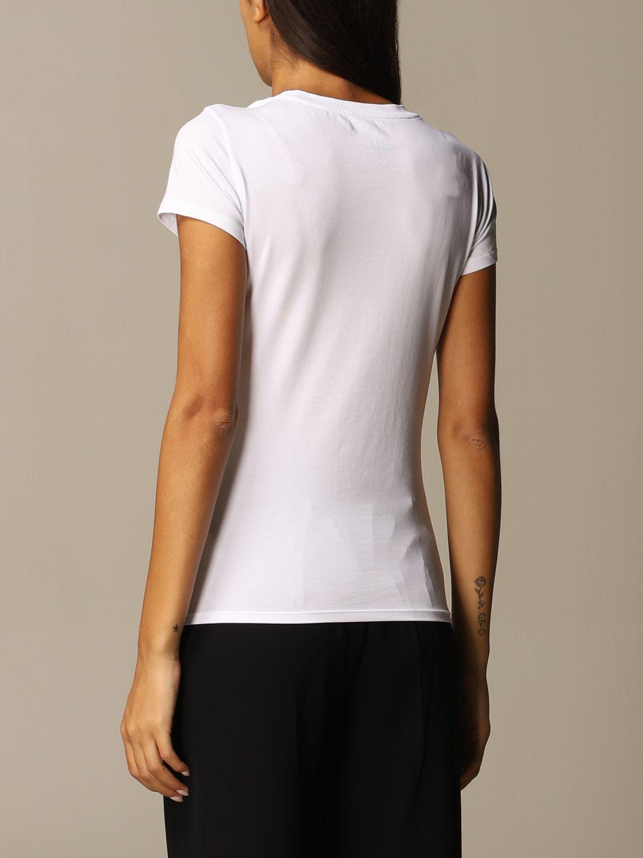 T-Shirt Armani Exchange: T-shirt women Armani Exchange white 2