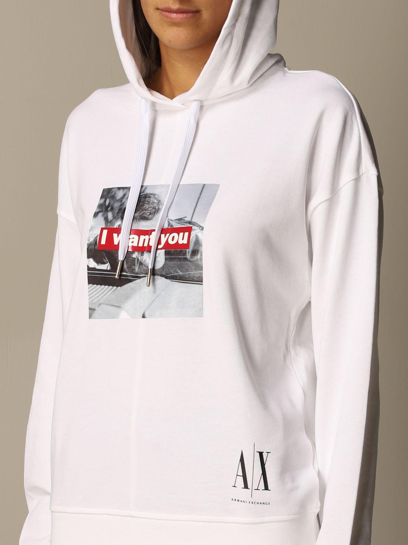 Sweatshirt Armani Exchange: Sweatshirt women Armani Exchange white 3