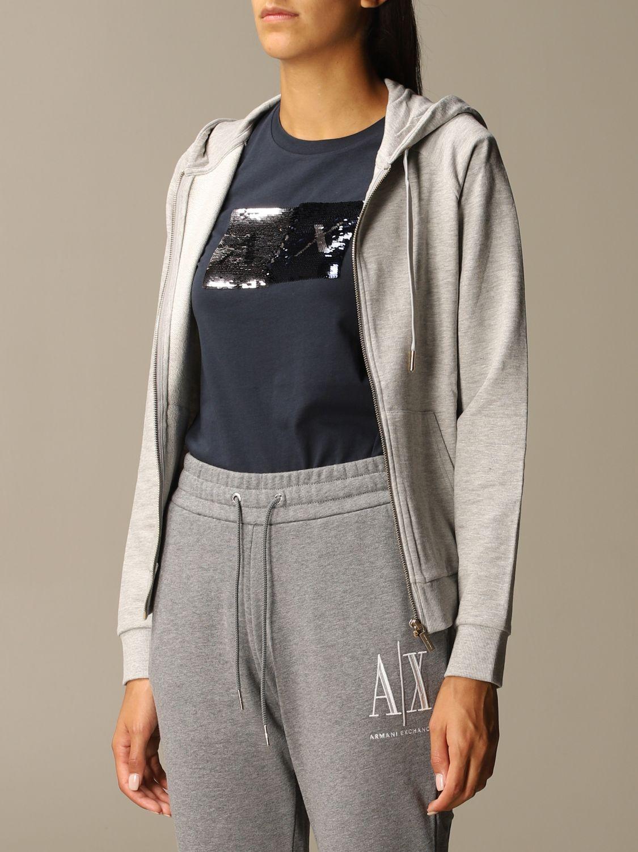 Sweatshirt Armani Exchange: Sweatshirt women Armani Exchange grey 3