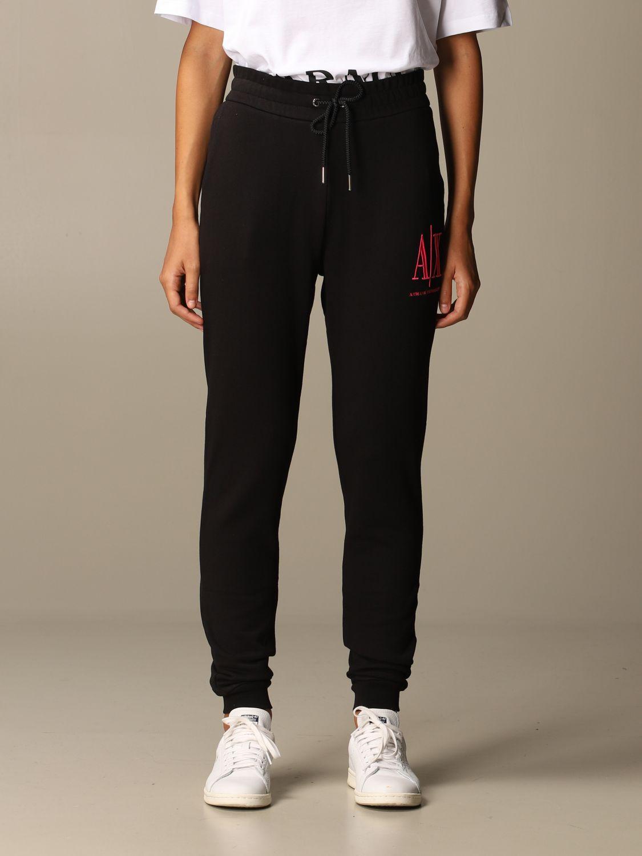 Trousers Armani Exchange: Trousers women Armani Exchange black 1 1
