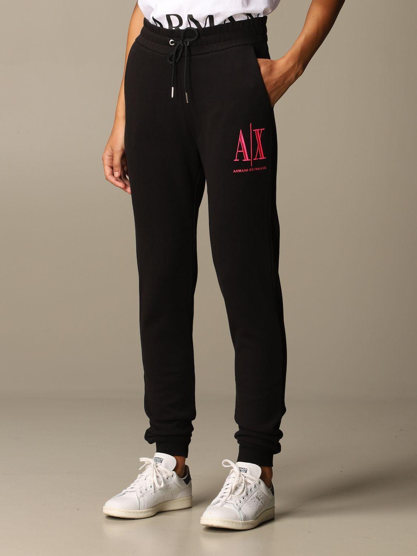Trousers Armani Exchange: Trousers women Armani Exchange black 1 3