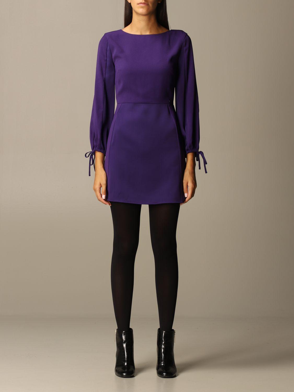 Dress Armani Exchange: Dress women Armani Exchange violet 1