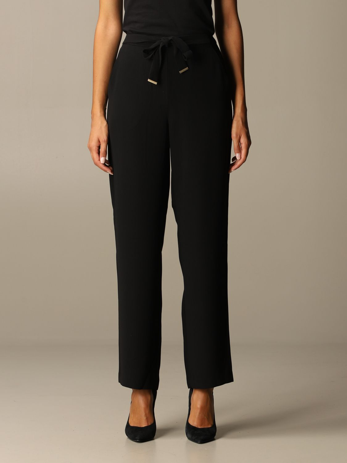 Trousers Armani Exchange: Trousers women Armani Exchange black 1