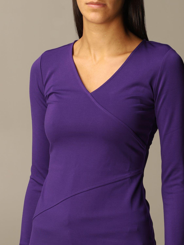 T-Shirt Armani Exchange: Top women Armani Exchange violet 3