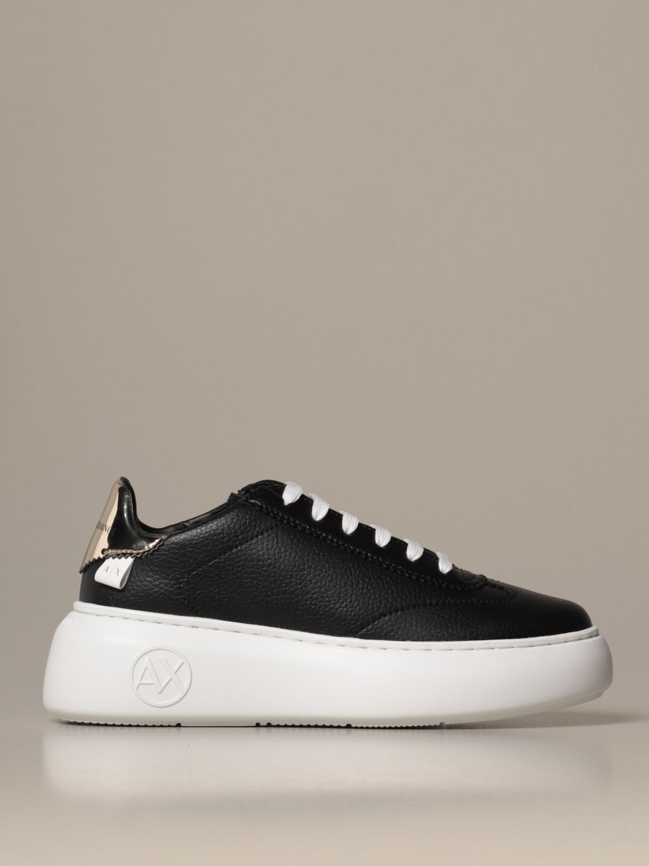 Baskets Armani Exchange: Chaussures femme Armani Exchange noir 1