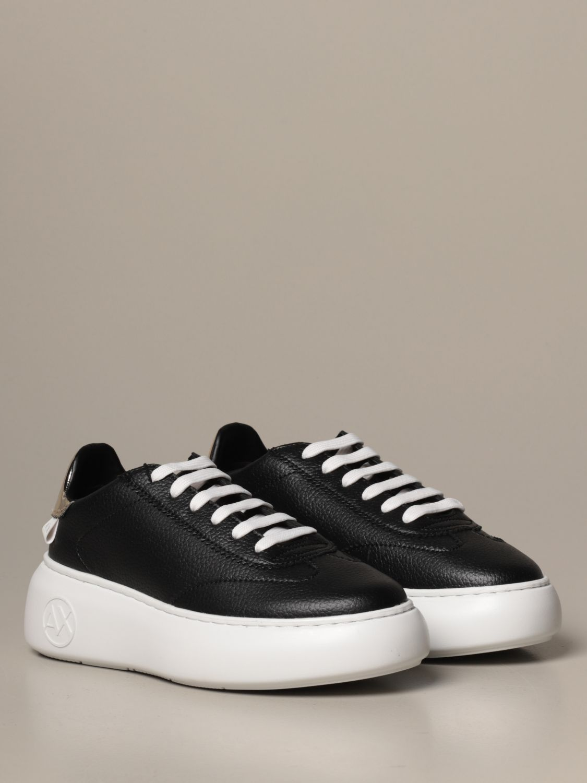 运动鞋 Armani Exchange: 鞋 女士 Armani Exchange 黑色 2